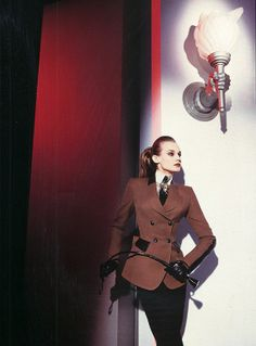 Thierry Mugler, F/W 1996