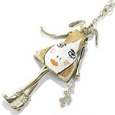 セルバン ギャゾット(Servane Gaxotte)の ネックレスです。 ユニーク柄ワンピース★垂れ耳ウサギ JP http://item.rakuten.co.jp/e-ste/plw15139/ EN http://global.rakuten.com/en/store/e-ste/item/plw15139/