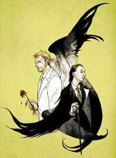 Two great characters - Supernatural fanart blog.