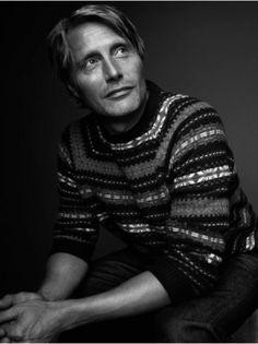 Mads Mikkelsen / Kauffman's Fall Catalog