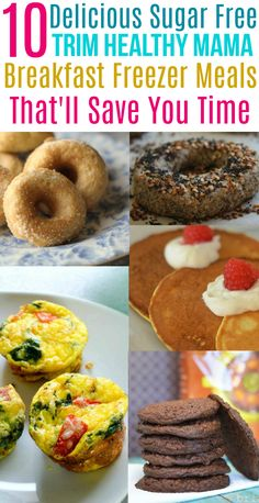 These delicious Trim Healthy Mama breakfast freezer meals will save you tons of time in the morning! Trim Healthy Mama Diet, Trim Healthy Recipes, Thm Recipes, Cream Recipes, Healthy Options, Healthy Freezer Meals, Freezer Cooking, Diabetic Meals, Cooking Stuff
