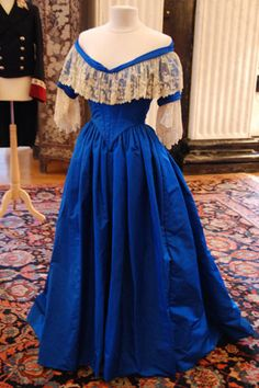 "From ""The Young Victoria"" (2009) worn by Emily Blunt as Queen Victoria design by Sandy Powell"