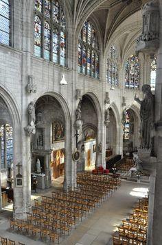 eglise Saint-Nicolas. Troyes. Champagne