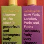 Testbericht für Shower Gels von anatomicals