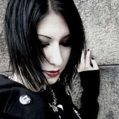 Image detail for -Gothic-hairstyle for girls