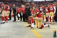San Francisco 49ers quarterback Colin Kaepernick has been kneeling for the…