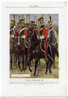 Alphonse Lalauze - Dutch Lancers