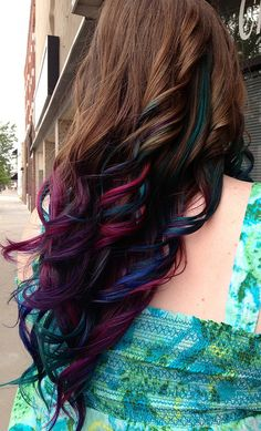 Need to find a way to have purple hair and not look like a hipster