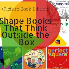 A few weeks ago, I introduced you to my favorite board books that teach shapes in creative ways. And those are a great place to start, especially for toddlers. But sometimes your preschoolers need more shape practice as well, and they want real picture books, not board books. So, here are my favorite shape books …