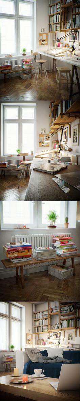 Workspace by Vid Benišek | Realistic | 3D | CGSociety