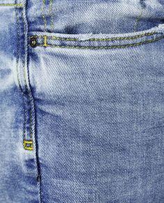 Imagem 7 de CALÇAS DE GANGA SLIM FIT da Zara