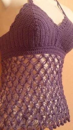 Resultado de imagem para blusa crochet