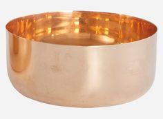 Sp0341 - Skål, CLASSIC, kobber, dia.: 12 cm, h.: 5,5 cm