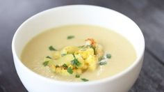 Dr Weil Curried Cauliflower Soup
