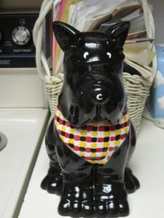 Scottie Dog Cookie Jar | eBay