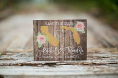 Custom Wedding Invitation Suite Designed By Feathered Heart Prints - Hand lettering by Amanda Arneill-- http://jennhopkinsphotography.com/#