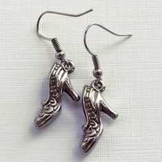 Brincos Sapatinho - Little Shoe Earrings | Beat Bijou | Elo7