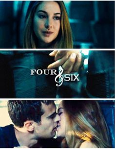 Four From Divergent | Divergent | Hunger Games and Divergent Series (dystopian)
