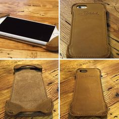 Need your help: What does everybody think of the new iPhone 6 Case? Classy photography via @lmj9024  #iPhone6Case #LeatherCase #iPhone6Case #BetterWithAge #LeatherGoods #SaddlebackLeather