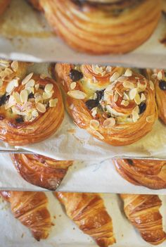Pastries fresh out of the oven.. they look delicious