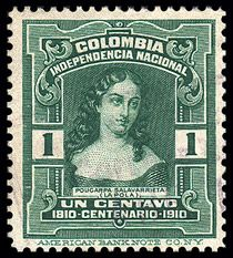 Los sellos postales y las conmemoraciones de la independencia   banrepcultural.org
