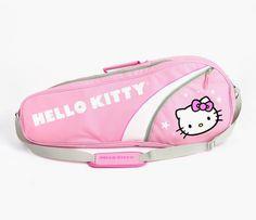 Hello Kitty Adult Tennis Bag: Pink