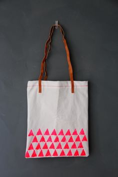 Stamped Tote | 39 DIY Christmas Gifts You'd Actually Want To Receive