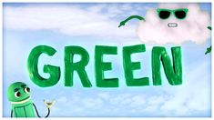 """""""Think Green,"""" Songs About Colors by StoryBots Preschool Songs, Preschool Learning Activities, Color Activities, Preschool Classroom, Kids Songs, Math Songs, Nanny Activities, Teaching Colors, Teaching Art"""