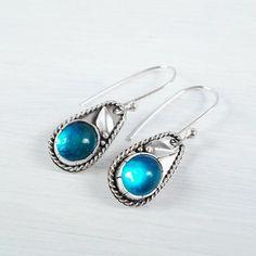 Blue Earrings, Dangle Earrings, Handmade Jewelry Designs, Simple Jewelry, Dangles, Gemstone Rings, Ocean, Boho, Gifts