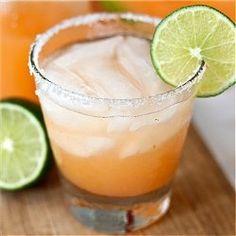 Cantaloupe Margaritas - the epitome of summer.