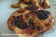Les plats cuisinés de Esther B: Tournedos de poulet grillé sur B.B.Q.