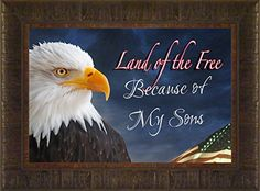 Sons of Freedom By Todd Thunstedt 17.5x23.5  Patriotic U.S. United States Armed Services Army Navy Air Force Marines Soldier Military War Constitution Washington Lincoln Reagan Helicopter General West Point Sailor Airman Corps Fleet Submarine Parachute Humvee Armored Seal Ranger Battleship Destroyer Pentagon National Guard Special Op Academy Top Gun Base Pilot Framed Art Print Wall Décor Picture ThunderMark Art and Graphics http://www.amazon.com/dp/B00W8J9K2K/ref=cm_sw_r_pi_dp_RtmDvb1PPK82J