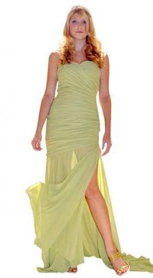 52132e727d1 Sheer Delight Chiffon Prom Dress … Zaphon Stores