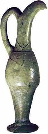 Terra cotta earthenware jar Hittite ,from Hattousa,Turkey
