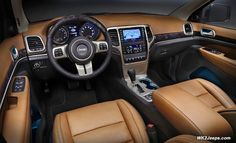 Best 2017 Jeep Grand Cherokee Interior Colors Overland
