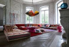 Beautiful styling by Missoni Home