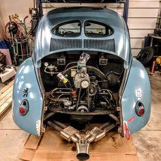 Down for a few repairs this week....but still looking good! #vintagespeed #vintagespeedvw #oldspeed #oldvw #speedwell #superchargedvw #superchargedaircooled#aircooledvw #vwbeetle #aircooledbug #outlawvintage #outlawvw ##aircooledtype1 #porsche356 #sebringexhaust #derbrummbar #zwitter