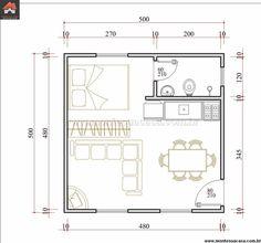 Resultado de imagen para projetos de casas de campo com 3 quartos
