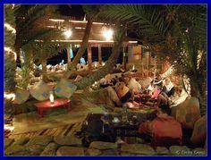 Restaurant in Dahab, Red Sea, Egypt. www.dahabvillas.com