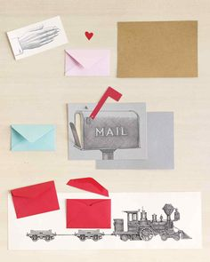 3-D Valentine's Day Accordion Card   Martha Stewart