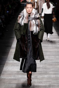 Fendi Fall 2014 Ready-to-Wear Fashion Show - Chiharu Okunugi