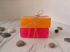 Soap Gift Set Soap Set of 2 ~ Guest Soap ~ Guest Bath Soap ~ Gift Set ~ Handmade Soap ~ Luxury Soap ~ Face and Body Soap ~ Soap Bundle by CoconutSpiceSkincare on Etsy