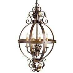 Currey & Company Coronation Chandelier design by Currey & Company ($740) ❤ liked on Polyvore featuring home, lighting, ceiling lights, wrought iron lamps, wrought iron lighting, chain chandelier, hanging chain lamp и chain lamp