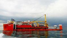PHOTO: Sea Truck's 'Jascon 34' en route to Argentina
