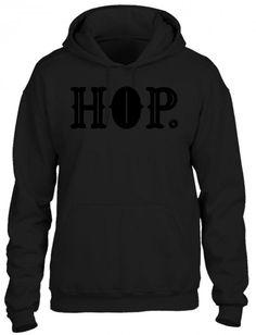 Typography Hip Hop HOODIE