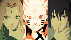 Team Naruto Uzumaki, Sakura Haruno and Sasuke Uchiha Naruto Shippuden Sasuke, Naruto Kakashi, Anime Naruto, Sasuke Uchiha Sakura Haruno, Naruto Team 7, Wallpaper Naruto Shippuden, Naruto Wallpaper, Manga Anime, Shikamaru