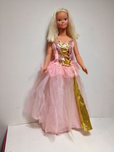 My Size Barbie Rapunzel 1992 Mexico Life Sized 36"