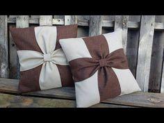 DIY: Almofada decorativa em formato de coração de flores ❤ - YouTube