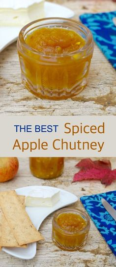 Spiced Apple Chutney - Easy, Delicious and Simply The Best - Tin and Thyme Chutney Recipes, Sauce Recipes, Curry Recipes, Relish Recipes, Vegetarian Recipes, Ketchup, Pesto, Mayonnaise, Jam And Jelly
