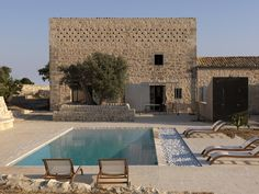 Great Restoration Of A Historical Sicilian Farm - Decoholic